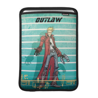Guardians of the Galaxy | Star-Lord Mugshot Sleeve For MacBook Air