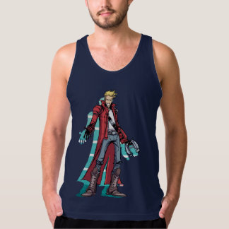 Guardians of the Galaxy | Star-Lord Mugshot Tank Top