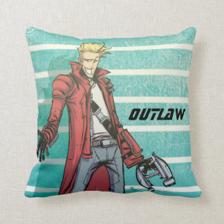 Guardians of the Galaxy | Star-Lord Mugshot Throw Pillow