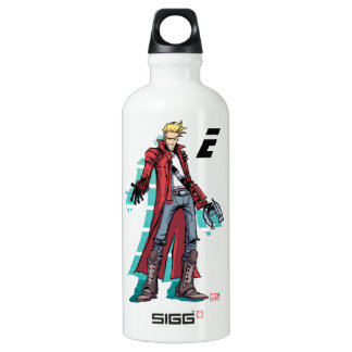 Guardians of the Galaxy | Star-Lord Mugshot Water Bottle