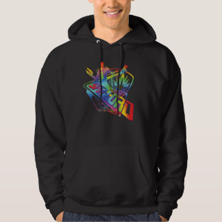 Guardians of the Galaxy | Star-Lord Neon Graphic Hoodie