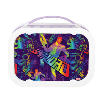 Guardians of the Galaxy | Star-Lord Neon Graphic Lunch Box