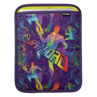 Guardians of the Galaxy | Star-Lord Neon Graphic Sleeves For iPads