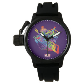 Guardians of the Galaxy   Star-Lord Neon Graphic Watch