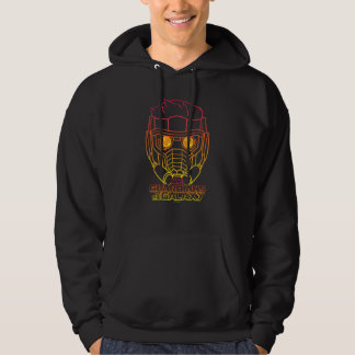 Guardians of the Galaxy | Star-Lord Neon Outline Hoodie
