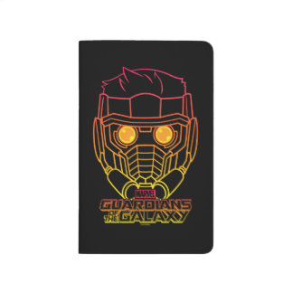 Guardians of the Galaxy | Star-Lord Neon Outline Journal
