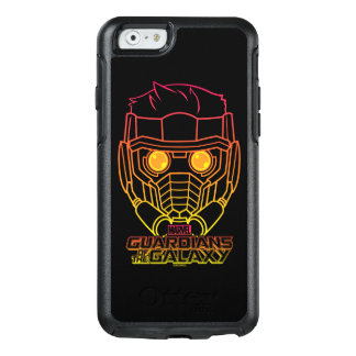 Guardians of the Galaxy | Star-Lord Neon Outline OtterBox iPhone 6/6s Case