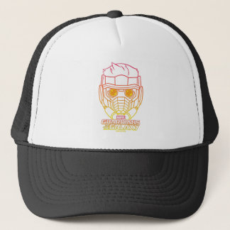 Guardians of the Galaxy | Star-Lord Neon Outline Trucker Hat