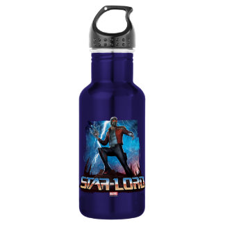 Guardians of the Galaxy | Star-Lord On Planet 532 Ml Water Bottle