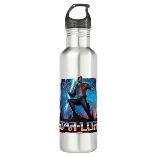 Guardians of the Galaxy | Star-Lord On Planet 710 Ml Water Bottle