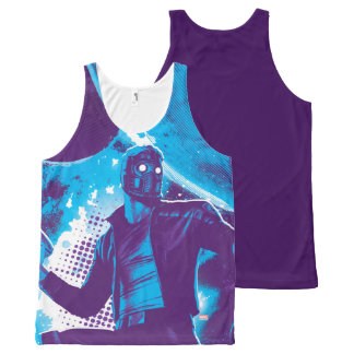 Guardians of the Galaxy | Star-Lord On Planet All-Over-Print Tank Top