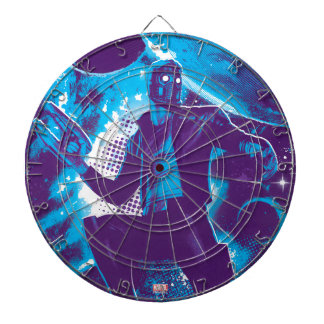 Guardians of the Galaxy   Star-Lord On Planet Dartboard With Darts