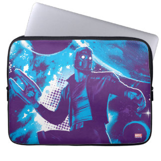 Guardians of the Galaxy | Star-Lord On Planet Laptop Sleeve