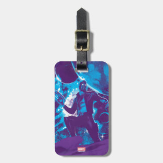 Guardians of the Galaxy | Star-Lord On Planet Luggage Tag