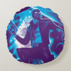 Guardians of the Galaxy   Star-Lord On Planet Round Pillow