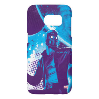 Guardians of the Galaxy | Star-Lord On Planet Samsung Galaxy S7 Case