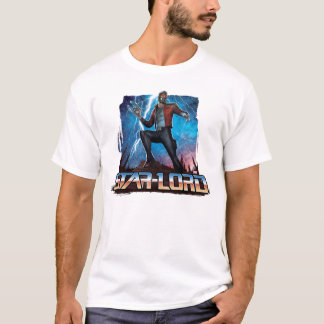 Guardians of the Galaxy | Star-Lord On Planet T-Shirt