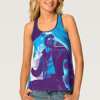 Guardians of the Galaxy | Star-Lord On Planet Tank Top