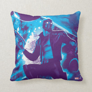 Guardians of the Galaxy | Star-Lord On Planet Throw Pillow