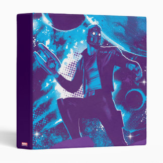 Guardians of the Galaxy | Star-Lord On Planet Vinyl Binders