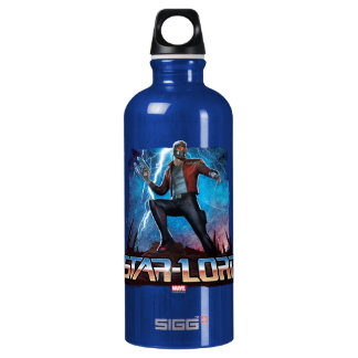 Guardians of the Galaxy | Star-Lord On Planet Water Bottle