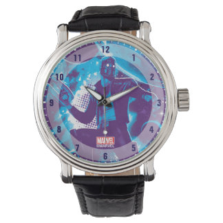 Guardians of the Galaxy | Star-Lord On Planet Wrist Watch