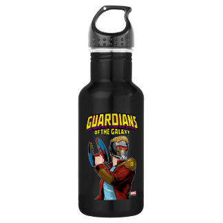Guardians of the Galaxy | Star-Lord Retro Comic 532 Ml Water Bottle