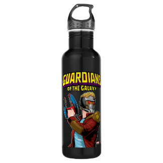 Guardians of the Galaxy | Star-Lord Retro Comic 710 Ml Water Bottle