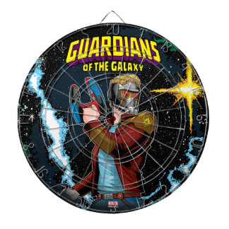 Guardians of the Galaxy | Star-Lord Retro Comic Dartboard