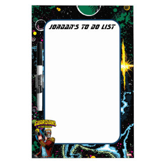 Guardians of the Galaxy | Star-Lord Retro Comic Dry Erase White Board