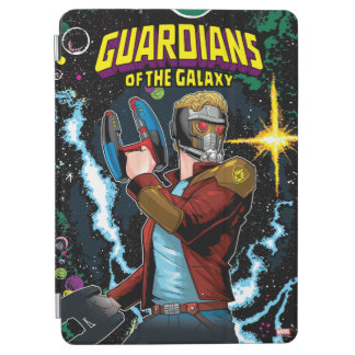 Guardians of the Galaxy | Star-Lord Retro Comic iPad Air Cover