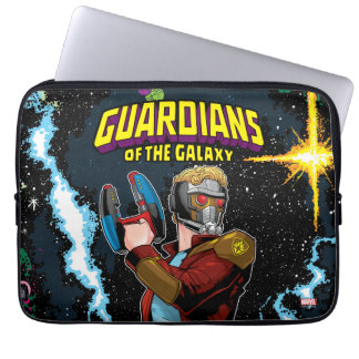 Guardians of the Galaxy | Star-Lord Retro Comic Laptop Sleeve