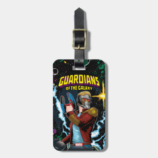 Guardians of the Galaxy | Star-Lord Retro Comic Luggage Tag