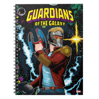 Guardians of the Galaxy | Star-Lord Retro Comic Notebook