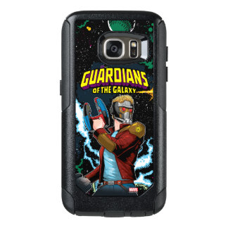 Guardians of the Galaxy | Star-Lord Retro Comic OtterBox Samsung Galaxy S7 Case