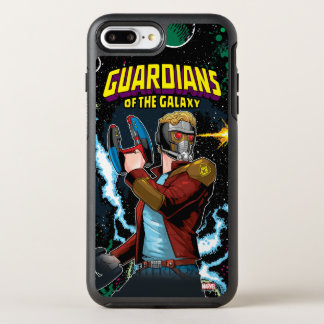 Guardians of the Galaxy | Star-Lord Retro Comic OtterBox Symmetry iPhone 8 Plus/7 Plus Case