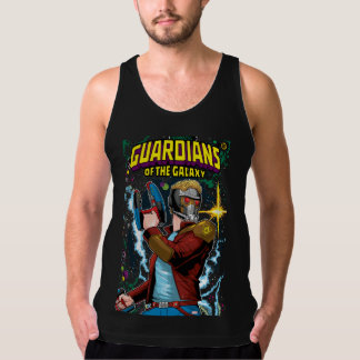 Guardians of the Galaxy | Star-Lord Retro Comic Tank Top