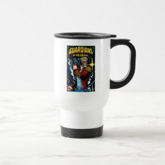 Guardians of the Galaxy   Star-Lord Retro Comic Travel Mug