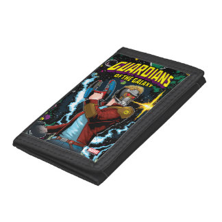 Guardians of the Galaxy | Star-Lord Retro Comic Trifold Wallet