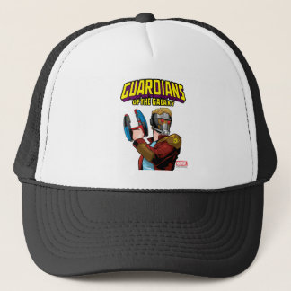 Guardians of the Galaxy | Star-Lord Retro Comic Trucker Hat