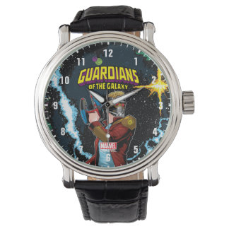 Guardians of the Galaxy   Star-Lord Retro Comic Watch