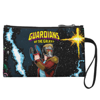 Guardians of the Galaxy | Star-Lord Retro Comic Wristlet