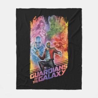Guardians of the Galaxy | Technicolor Crew Art Fleece Blanket
