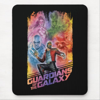 Guardians of the Galaxy   Technicolor Crew Art Mouse Pad