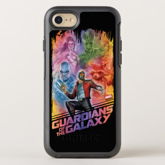 Guardians of the Galaxy | Technicolor Crew Art OtterBox Symmetry iPhone 8/7 Case