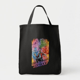 Guardians of the Galaxy | Technicolor Crew Art Tote Bag
