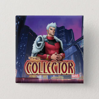 Guardians of the Galaxy   The Collector 2 Inch Square Button