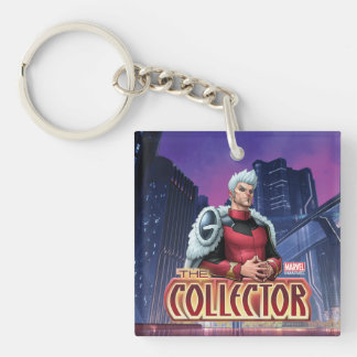 Guardians of the Galaxy | The Collector Double-Sided Square Acrylic Keychain