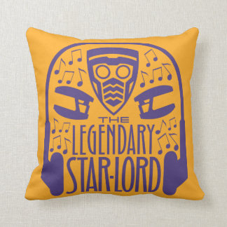 Guardians of the Galaxy | The Legendary Star-Lord Throw Pillow