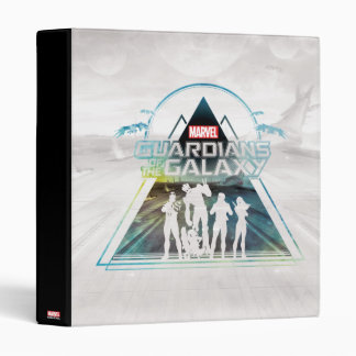 Guardians of the Galaxy | Triangle Outline Crew Binders
